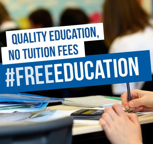 quality education no tuition fees