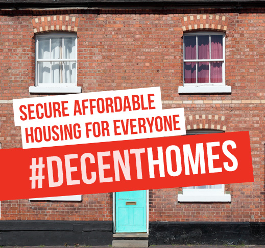 Secure, affordable housing for everyone