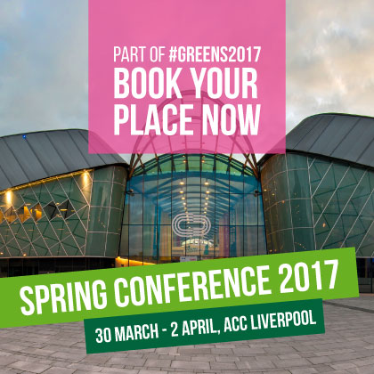 Spring Conference 2017: Book you place now