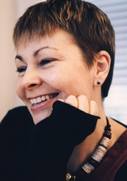 Caroline Lucas - Green Party Leader (portrait)