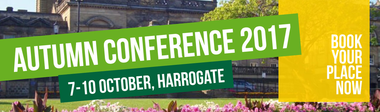 Autumn Conference 2017 - Book your place now
