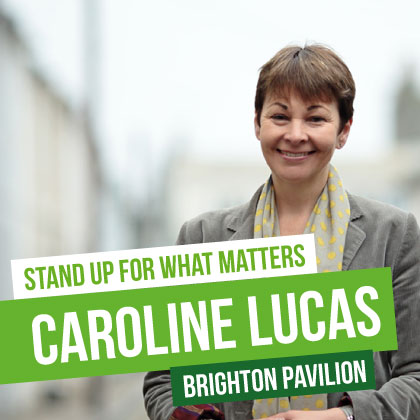Caroline Lucas for Brighton Pavilion