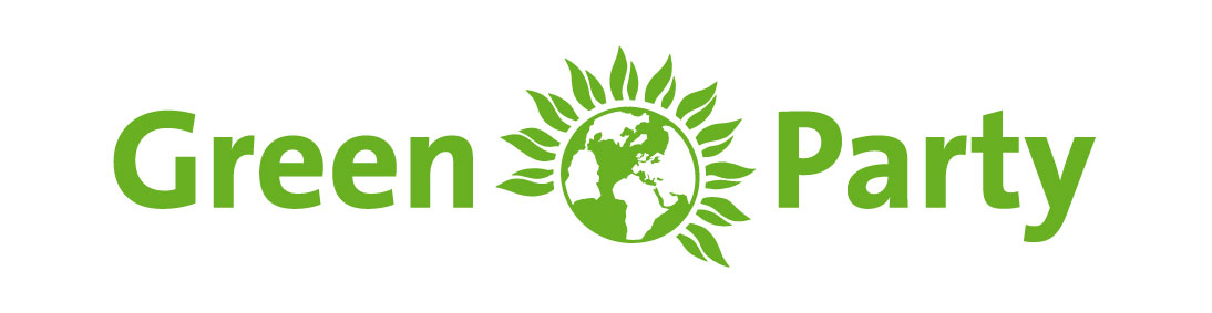 Green Party centred logo