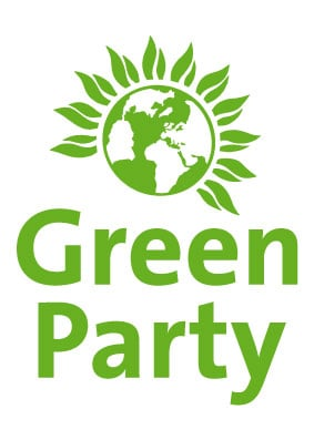 Green Party stacked logo