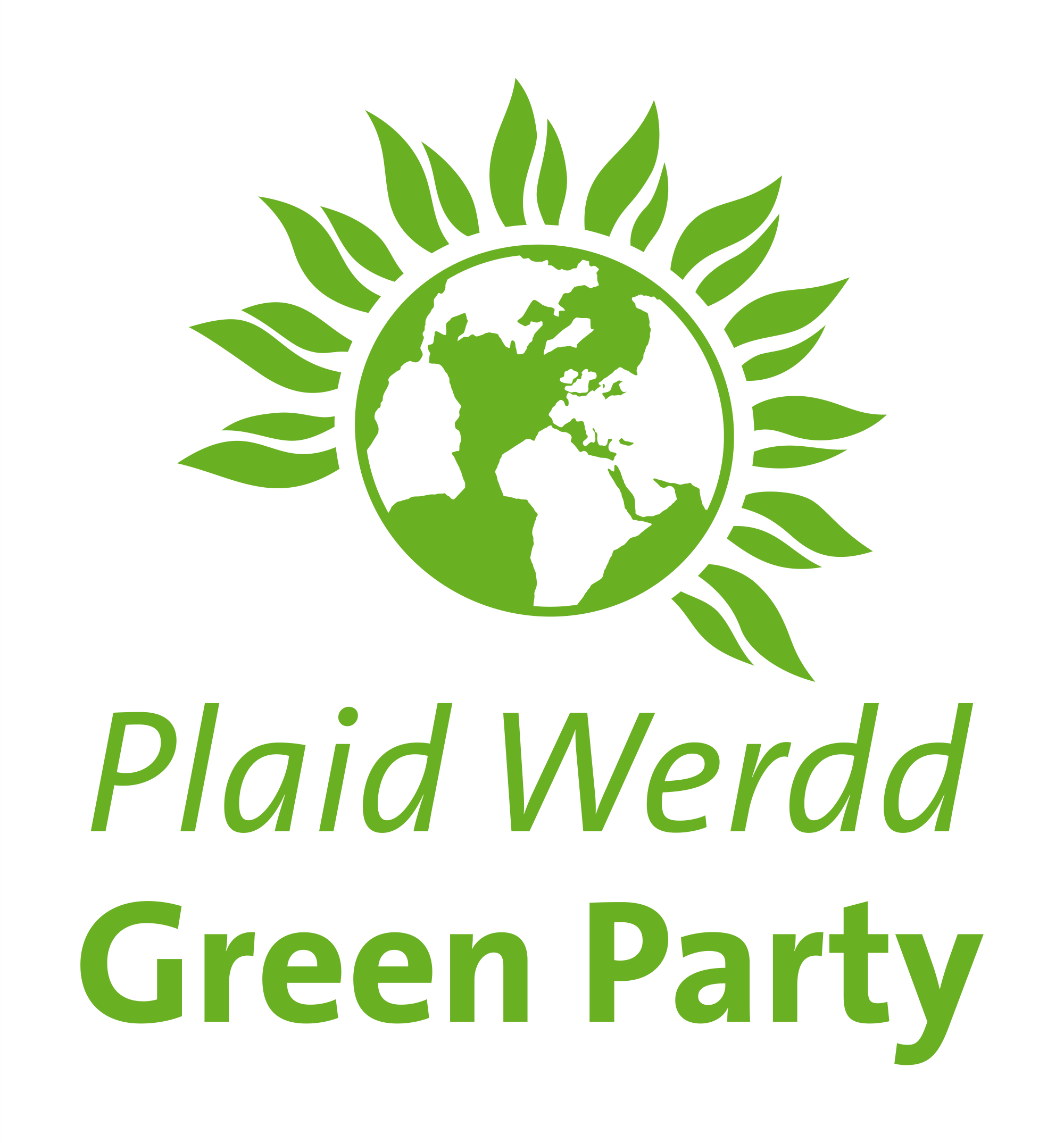 green party visual identity