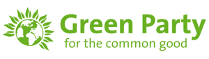 Green Party Logo with Strapline